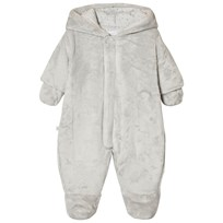 Absorba Grey Teddy Fleece Coverall 21