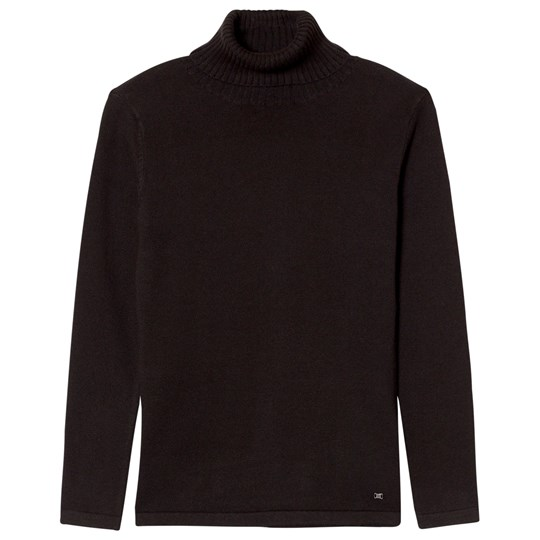 Mayoral Black Knit Turtleneck Top 44