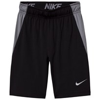 NIKE Black Dry Fly Junior Short BLACK/COOL GREY/COOL GREY