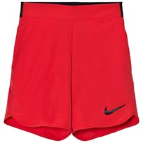 NIKE Red Flex Ace Tennis Shorts ACTION RED/BLACK