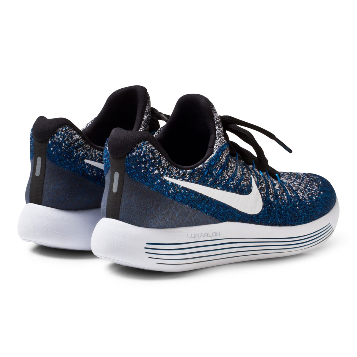 aed53fa21b4ee NIKE - LunarEpic Low Flyknit 2 Junior Running Shoe Blue - Babyshop.com