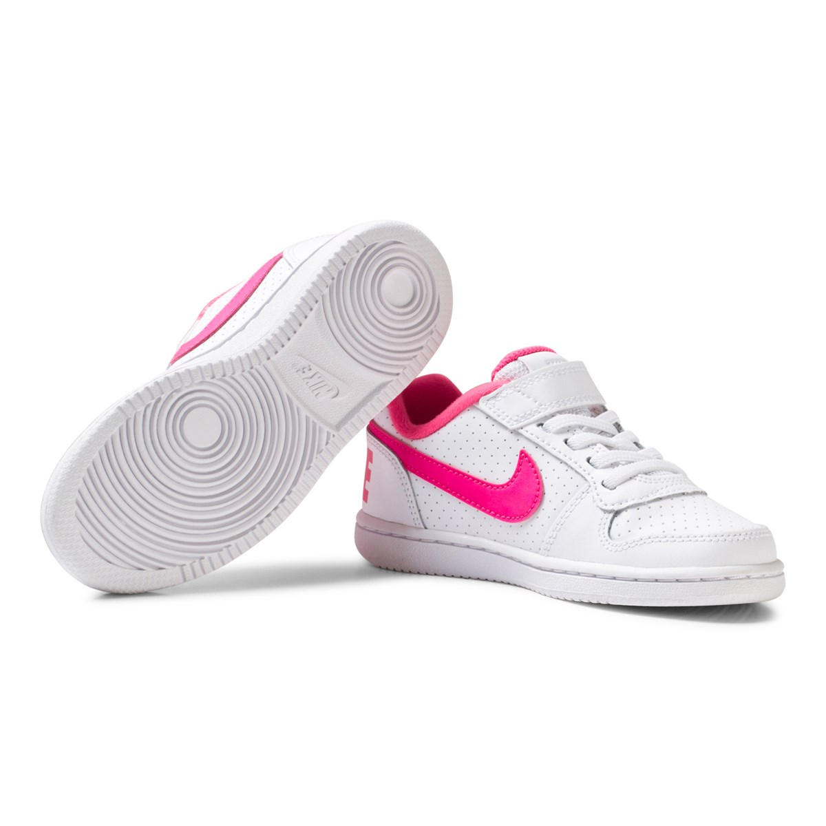 hot sales 87e7d c63a4 Nike Court Borough Low Kids Skor Vit - NIKE - Babyshop