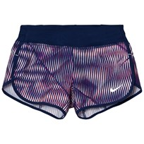 NIKE Navy Dry Rival Short SUNSET TINT/BINARY BLUE/SUNSET TINT
