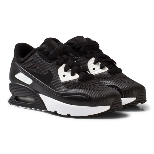 NIKE Air Max 90 Ultra 2.0 Kids Shoe Black BLACK/BLACK-WHITE