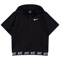 NIKE Black Dry Fleece Studio Hoodie Sort