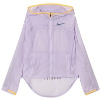 NIKE Pink Light Running Jacket VIOLET MIST/LASER ORANGE