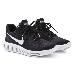 Image of NIKE Black LunarEpic Flyknit 2 Junior Running Shoe 35.5 (UK 3) (2743758049)