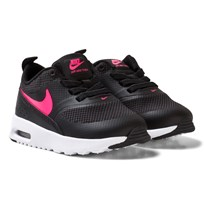 NIKE Black Air Max Thea Infant Shoe BLACK/RACER PINK-HYPER PINK