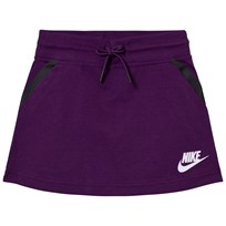 NIKE Purple Tech Fleece Skirt NIGHT PURPLE/HTR/VIOLET MIST