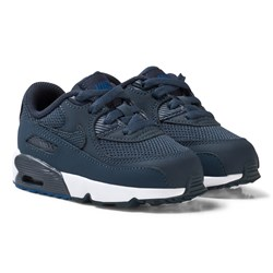NIKE Navy Nike Air Max 90 Mesh Infant Shoe