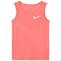 NIKE Pink Training Tank Top SUNBLUSH/WHITE/WHITE
