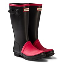 Hunter Watermelon ribbed toe Kids Wellies Pink