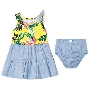 Image of GAP Bow Tank Tiered Flower Dress 18-24 mdr (2839668299)