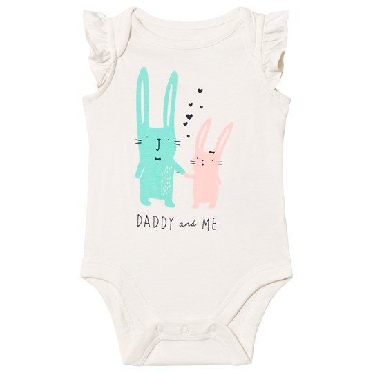 GAP Graphic Daddy Print Flutter Baby Body DAD