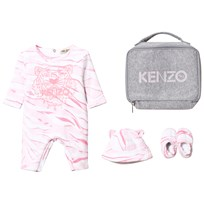 Kenzo Pink Tiger Baby Body, Hat and Booties Gift Set 312