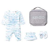 Kenzo Blue Tiger Baby Body, Hat and Booties Gift Set 411