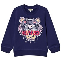Kenzo Purple Embroidered Tiger Sweatshirt 449