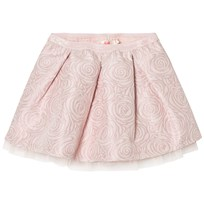 Billieblush Pink Rose Jacquard Skirt 46F