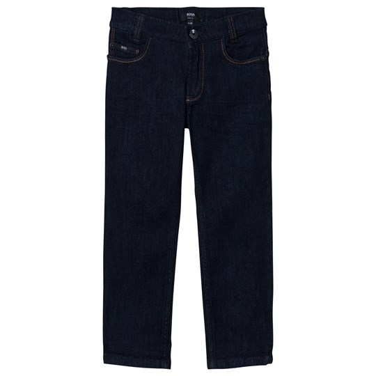 BOSS Indigo Dark Wash Slim Fit Jeans