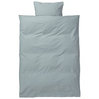 ferm LIVING Hush Bedding - Dusty Blue Baby Set Dusty Blue