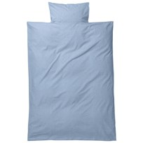 ferm LIVING Hush Bedding - Light Blue Junior Set Dusty Blue