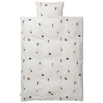 ferm LIVING Party Bedding - Baby Set Black