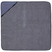 ferm LIVING Sento Baby Hooded Towel - Blue Blue