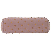 ferm LIVING Popcorn Bolster Cushion - Dusty Rose Dusty Rose