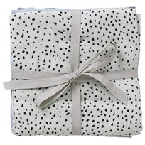 ferm LIVING Muslin Diapers - Mint Dot Set of 3 Mint