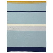 ferm LIVING Little Stripy Blanket - Blue Blue
