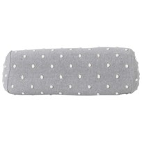 ferm LIVING Popcorn Bolster Cushion - Grey Black
