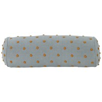 ferm LIVING Popcorn Bolster Cushion - Dusty Mint Mint