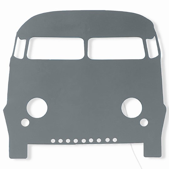 ferm LIVING Car Lamp - Dark Grey Dark grey
