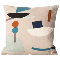 ferm LIVING Seaside Cushion - Grey Black