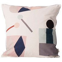 ferm LIVING Party Cushion - Off White off-white