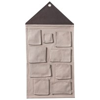ferm LIVING House Wall Storage - Grey Black