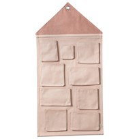 ferm LIVING House Wall Storage - Rose Multi