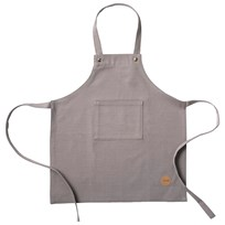 ferm LIVING Kids Apron - Grey Black
