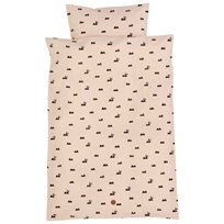 ferm LIVING Rabbit Junior Bäddset Rose Rose