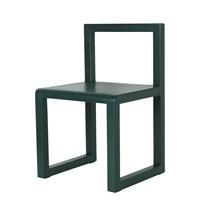 ferm LIVING Little Architect Chair Dark Green dark green