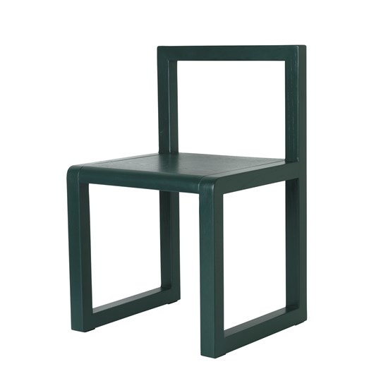 ferm LIVING Little Architect Stol Mörkgrön dark green
