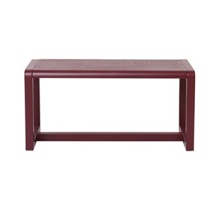 ferm LIVING Little Architect Bench Bordeaux