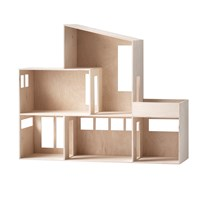 ferm LIVING Miniature Funkis House Wood