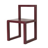 ferm LIVING Little Architect Chair Bordeaux Bordeaux