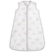 Aden + Anais Leader of the Pack Print Sleeping Bag White/Grey
