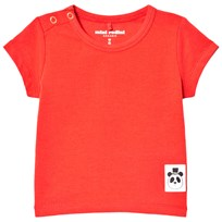 Mini Rodini Basic T-shirt Röd Red