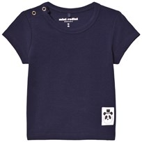 Mini Rodini Basic T-shirt Marinblå Blue