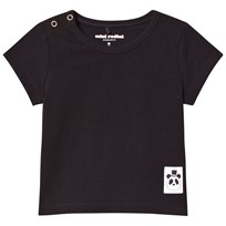 Mini Rodini Basic T-shirt Svart Black