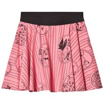 Mini Rodini Fox Family Skirt Pink Pink