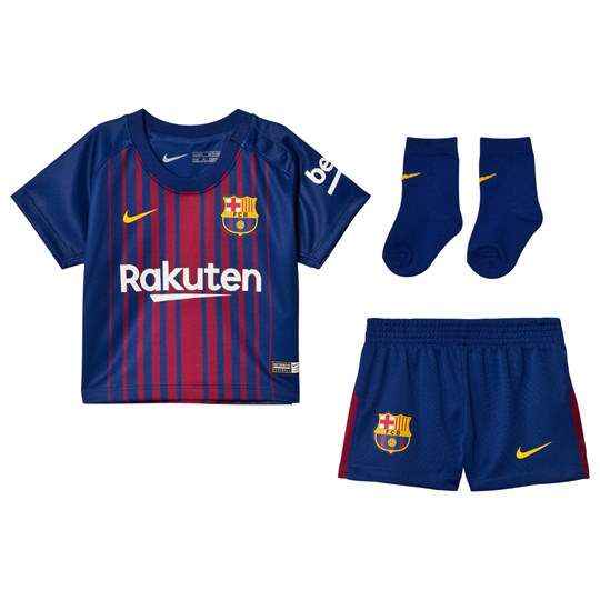 66ca5c76826 Barcelona FC Infant FC Barcelona Home Kit DEEP ROYAL BLUE UNIVERSITY GOLD